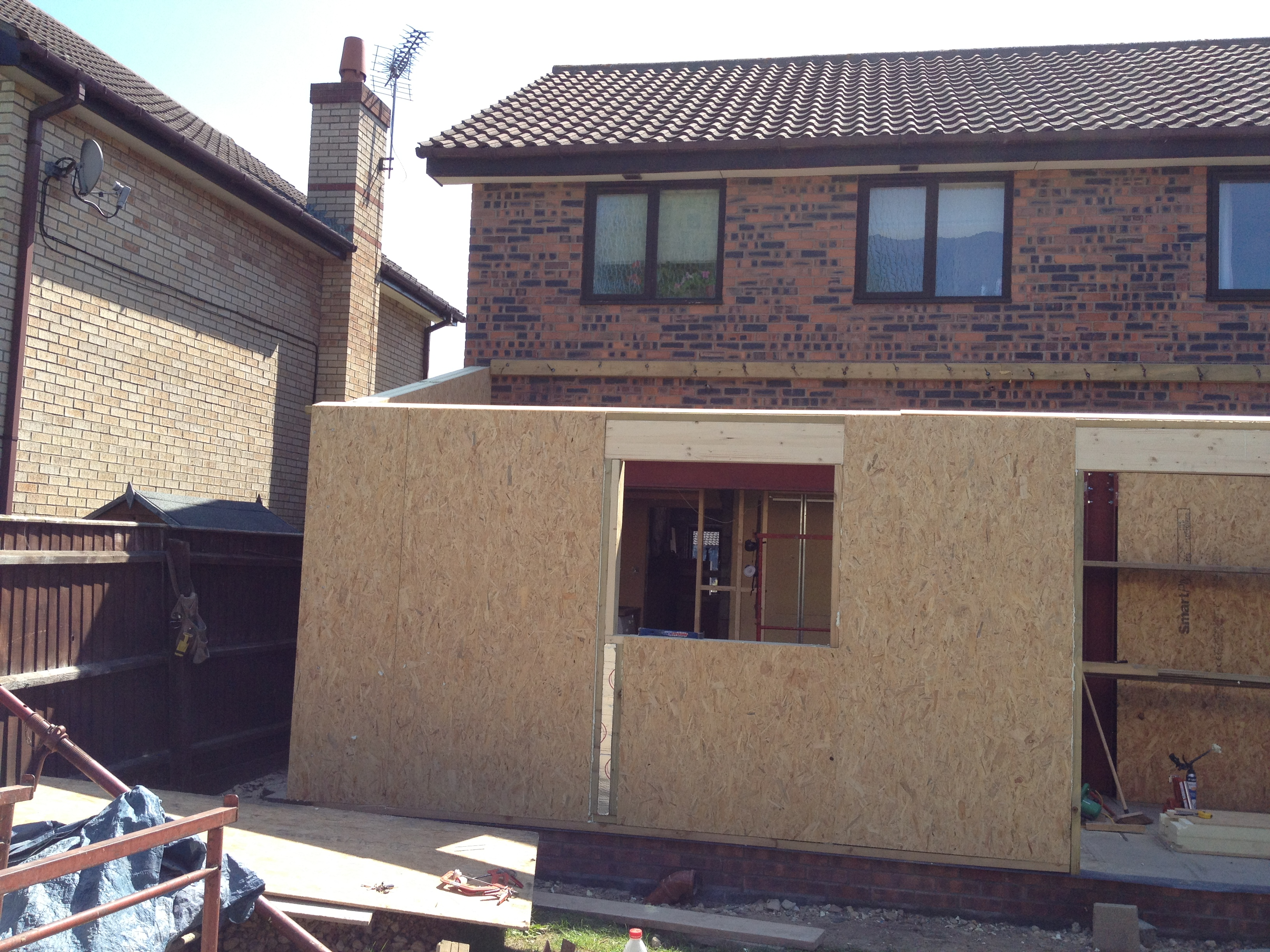 Sips ajg home improvements ltd for Sip panel kit homes