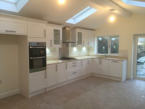 Recent kitchen extension