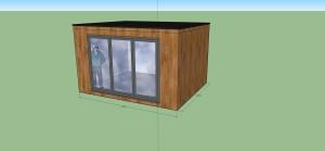 4mx3.25m studio