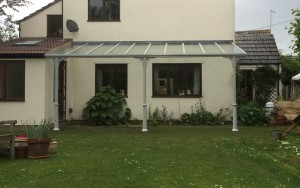 Simplicity 6 glass roof veranda